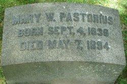 Mary W. Pastorius