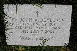 Rev John A Doyle, C.M.