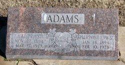 Mae <I>Priest</I> Adams