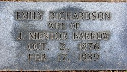 Emily Jamison <I>Richardson</I> Barrow
