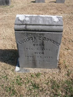 Lucinda Couch <I>Evans</I> Downing