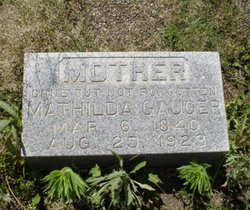 Mathilda Gauger