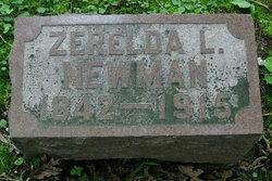 Zerelda <I>Lewis</I> Newman