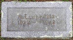 Benjamin Edward Hendrix