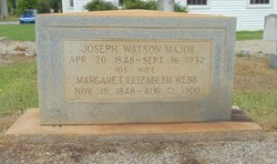 Margaret Elizabeth <I>Webb</I> Major