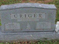 Robert Eddie Criger