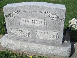 Velma A <I>Chaplin</I> Harmon