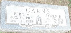 Fern Martha <I>Kimbrel</I> Carns