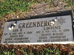 Ann H Greenberg