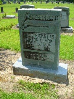 Millie Ricketts <I>Norton</I> Clark