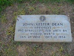 John Vester Dean