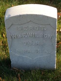 Sgt William Francis Wilson