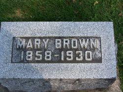 Mary Almeda <I>Jones</I> Brown