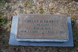Brady H Hewett