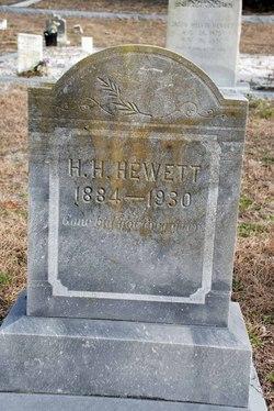Harry H Hewett