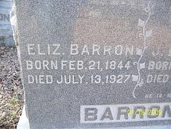 Elizabeth Olivia <I>Chisum</I> Barron