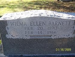 Wilma Ellen Barnett