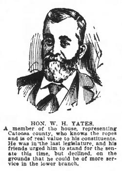 William H Yates