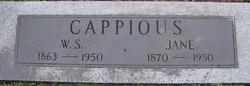 Martha Jane <I>Kirkendall</I> Cappious