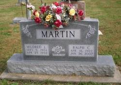 Mildred Louise <I>Austin</I> Martin