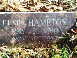 Elsie Hampton