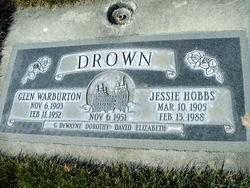 Jessie <I>Hobbs</I> Drown