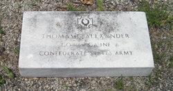 Sgt Thomas G. Alexander