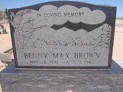 Benny Max Brown