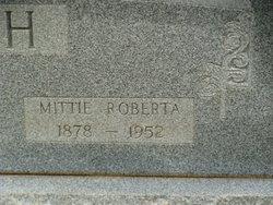 Mittie Roberta <I>Williams</I> Ash