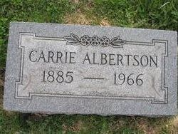 "Caroline ""Carrie"" <I>Bradford</I> Albertson"