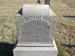 Annie Elizabeth <I>Evans</I> Miller