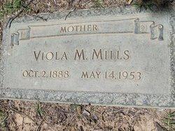 Viola Myrtle <I>Massey</I> Richardson, Kirkland, Mills