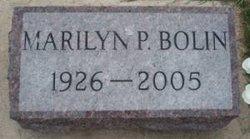 Marilyn P. <I>Baker</I> Bolin