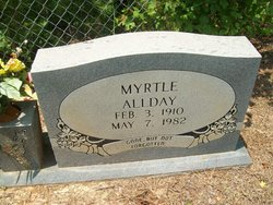 Myrtle Allday