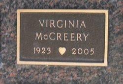 Virginia McCreery