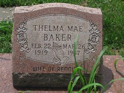 Thelma Mae Baker