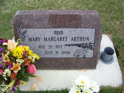 Mary Margaret <I>Ross</I> Arthun