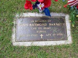 Donn Raymond Barnett