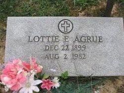 Lottie Elizabeth <I>Ashcraft</I> Agrue