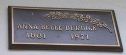 Anna Belle Burdick