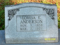 Louisa E. Anderson