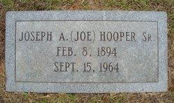 """Joseph A. """"Joe"""" Hooper Sr."""