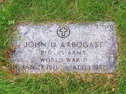 John D Arbogast