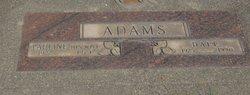 Pauline <I>Zeller</I> Adams