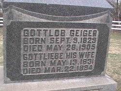 Gottliebe <I>Myers</I> Geiger