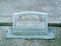 Aurelia E. <I>Schneider</I> Knight