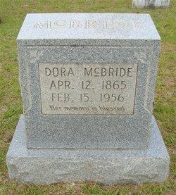 Dora <I>Williams</I> McBride