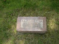 Alfaretta <I>Watts</I> Aldridge