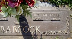 Esther Louise Babcock