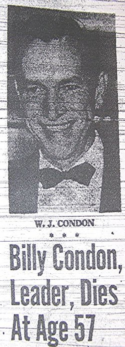 "William J. ""Billy"" Condon"